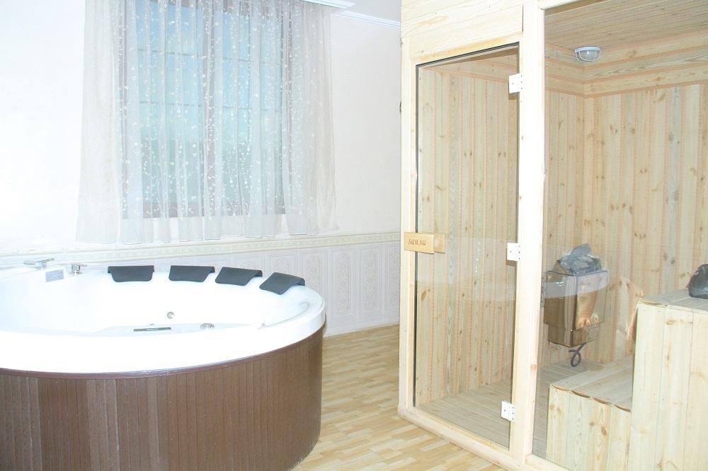 sauna and jacquise