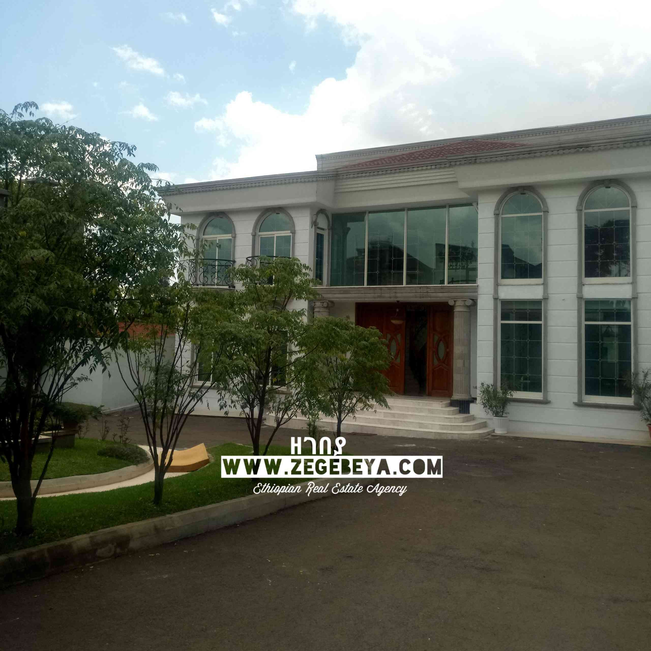 7 Bedroom Luxury House For Sale In Addis Ababa, Megenagna