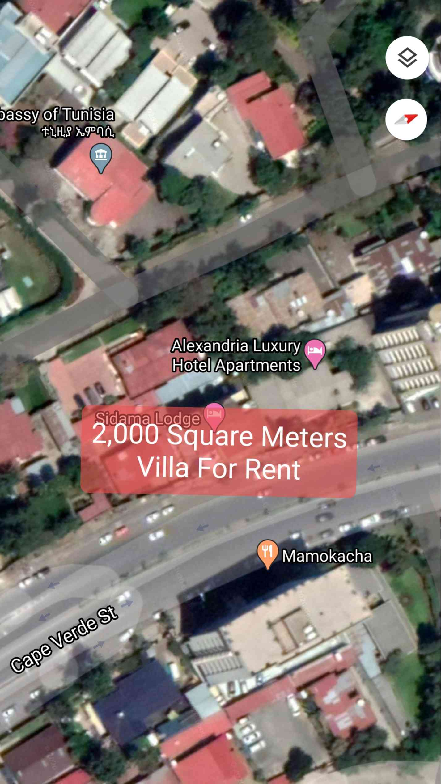 2,000 sqm Ambassadorial Residence For Rent In Addis Ababa, Bole