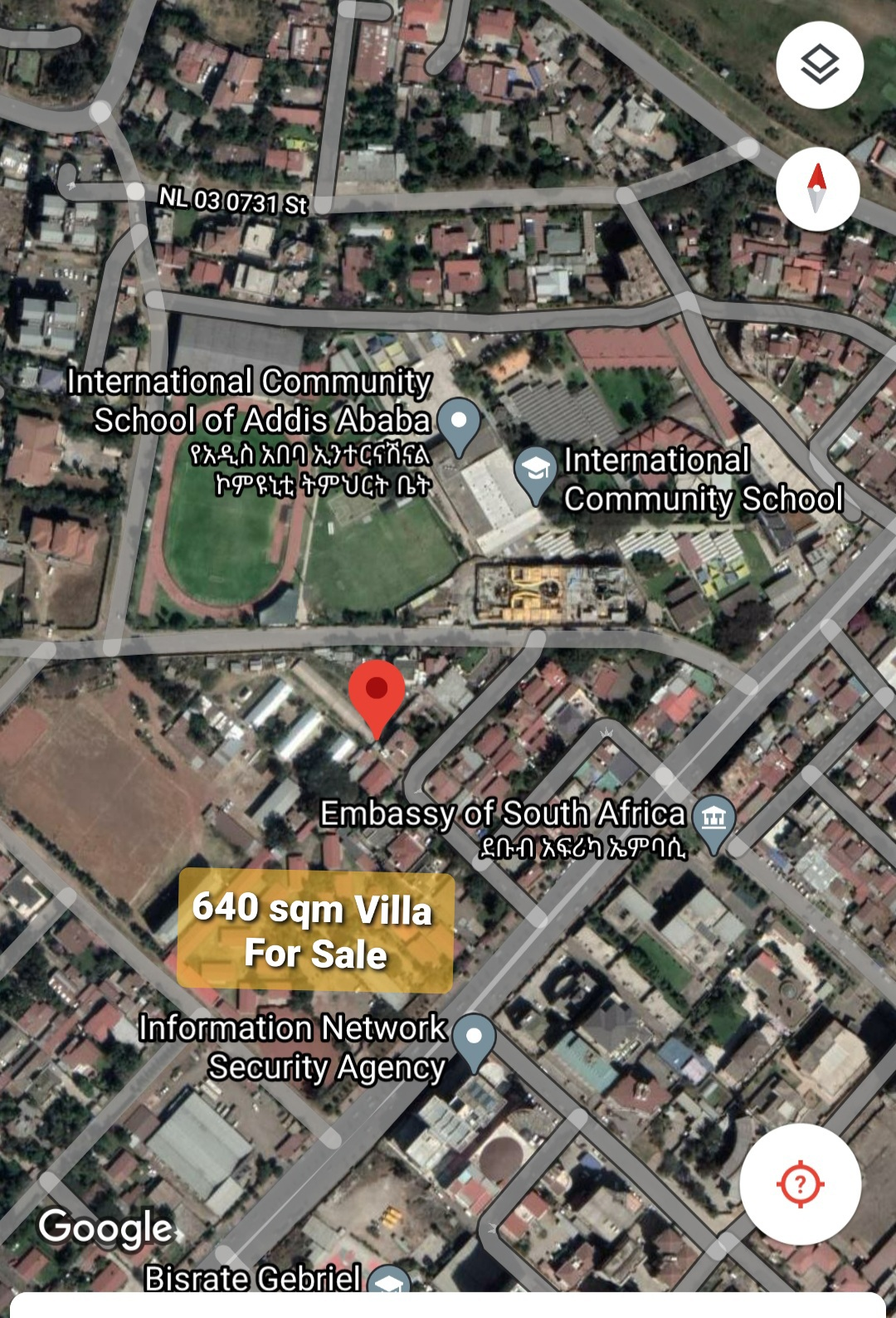 Hot Sale!!! 640 Sqm Plot For Sale at Old Airport