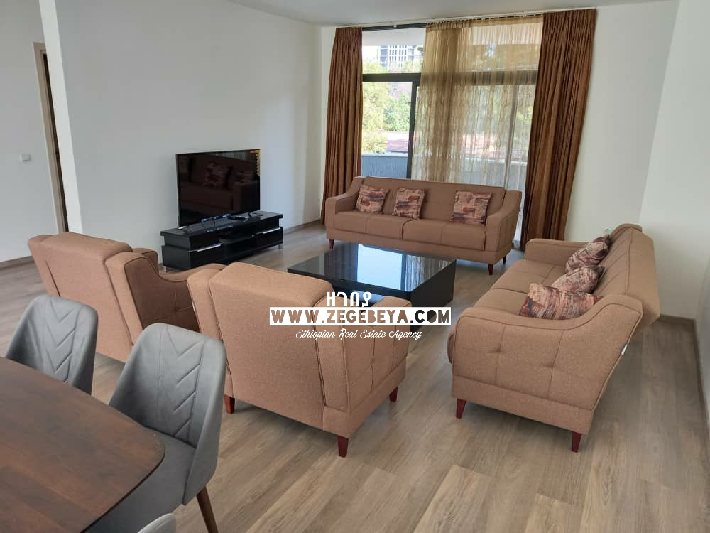 New 3 Bedroom Furnished Apartment at Bole