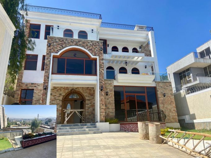 New House For Rent in Addis Ababa, Top View